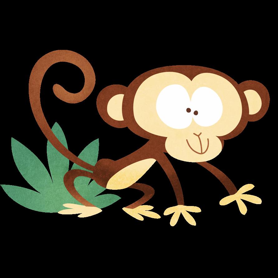 Adesivi murali scimmietta buffa leostickers for Planner cameretta